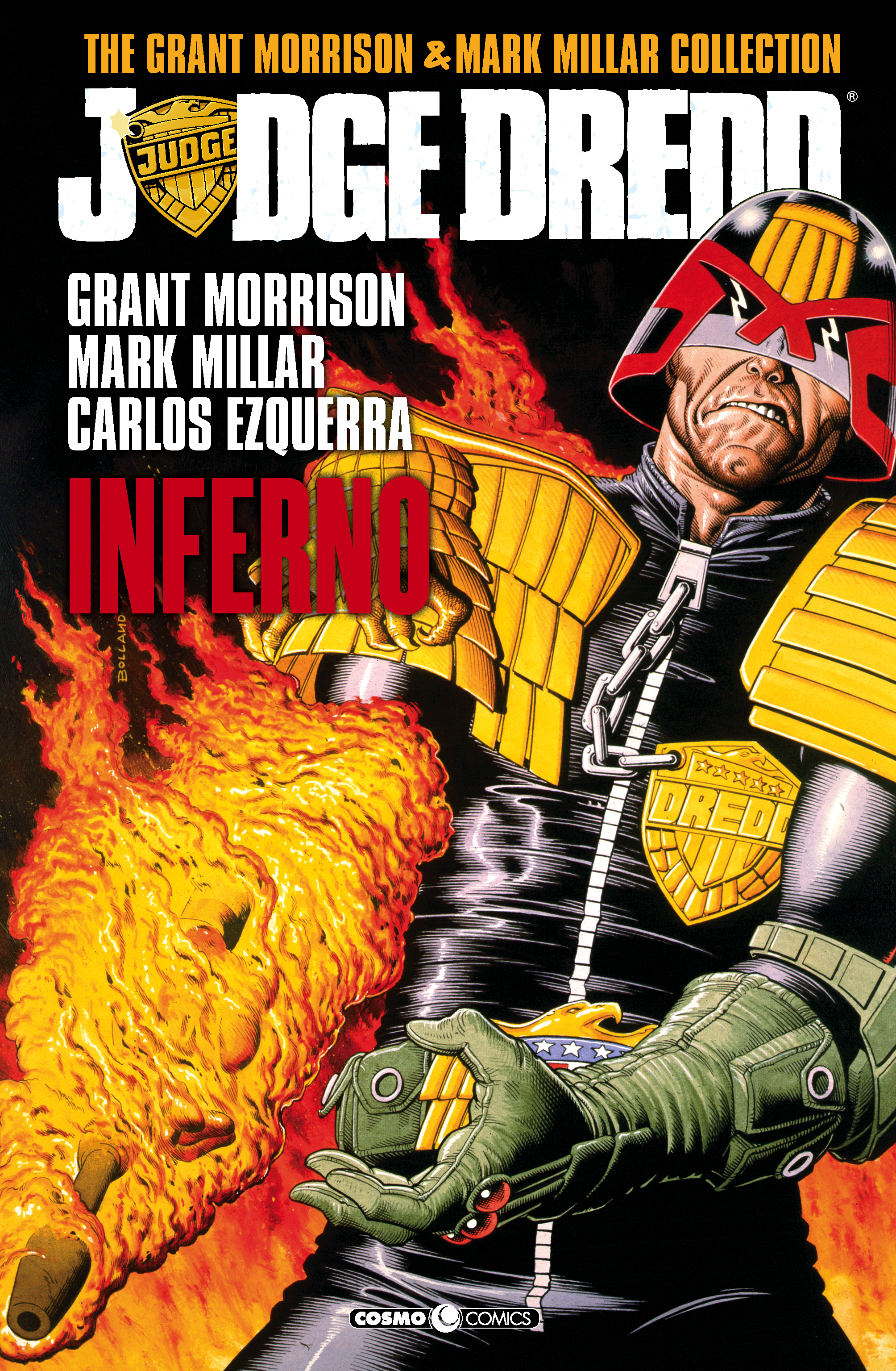JUDGE DREDD: THE GRANT MORRISON & MARK MILLAR COLLECTION 1 INFERNO